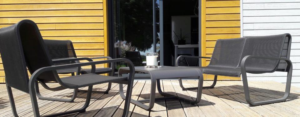Terrasse – Car port- Menuiseries extérieures.
